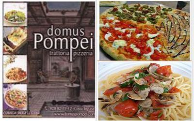 Italian Restaurants Domus Pompei Pizzeria Trattoria Costa Teguise Lanzarote