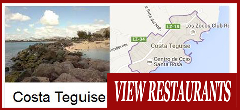 Costa Teguise Food Delivery Takeaway