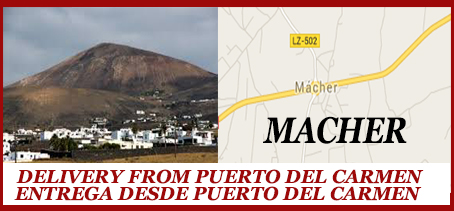 Macher Food Delivery Takeaway - Puerto del Carmen, Lanzarote