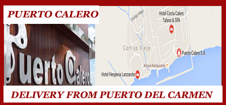 Puerto Calero , Delivery Restaurant Takeaway food Lanzarote