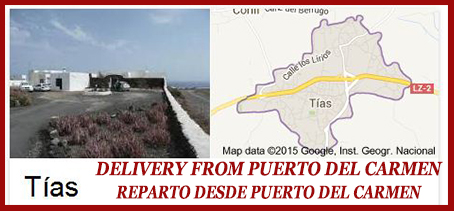Delivery Takeaway Food Lanzarote, takeaway food tias