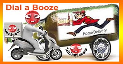 Dial a Booze, Takeaway Lanzarote