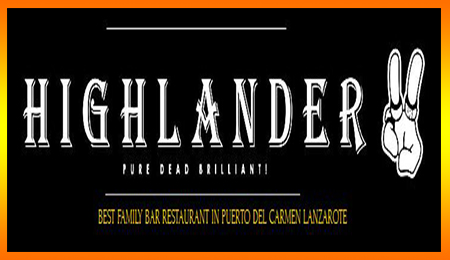 Highlander Takeaway Puerto del Carmen, British and International Cuisine