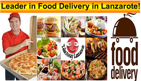 Takeaway Lanzarote, food delivery with a variety of restaurant menus offering Pizza, Kebabs, Chinese, Indian,Thai,  Italian, Canaries, Spanish  and much more. Order high-quality takeaway online from top restaurants, fast delivery straight to your home or office.Get amazing food from an incredible selection of local restaurants in lanzarote, Lanzarote. Takeaways Lanzarote : Playa Blanca | lanzarote | Yaiza | Puerto Calero | Costa Teguise | Arrecife | Playa Honda | San Bartolome | Haria | Macher | Femes .