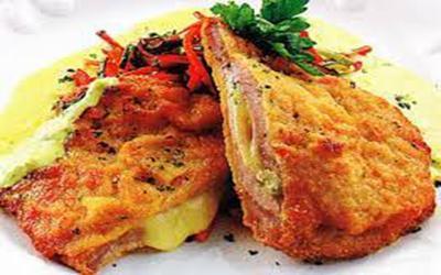 Escalope de pollo Napolitana - Takeaway Lanzarote