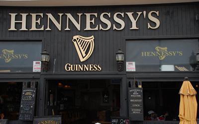 Hennessey's Restaurant Pub Costa Teguise Lanzarote