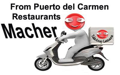 Macher Takeaway - Delivery from Puerto del Carmen - Lanzarote