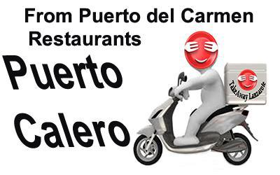 Puerto Calero Takeaways - Delivery From Puerto del Carmen Lanzarote