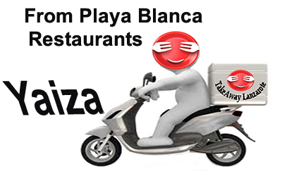 Yaiza Takeaways - Delivery From Playa Blanca Lanzarote