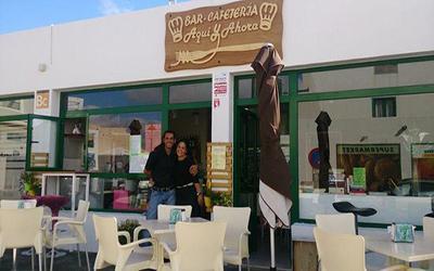 Bar Cafeteria Aqui y Ahora - Restaurante Costa Teguise Lanzarote