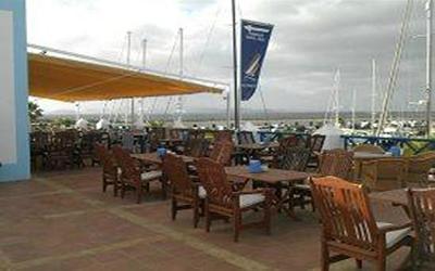 Terraza La Cubierta Restaurante Playa Blanca Lanzarote