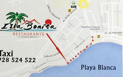 Restaurante Isla Bonita - Playa Blanca Lanzarote