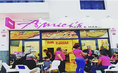 Pizzeria Amici Playa Blanca - Pizza XXL Takeaway Lanzarote