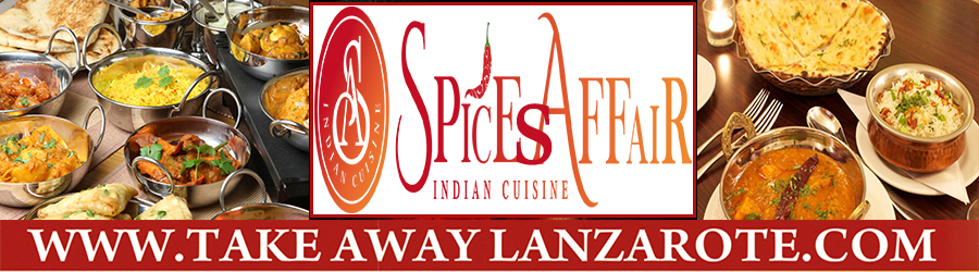 Indian Restaurant Curry House, Food Delivery Takeaway Playa Blanca, Lanzarote