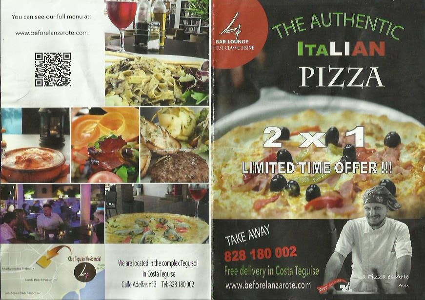authentic pizza menu costa teguise takeaway lanzarote - Pizza Discounts Costa Teguise - Pizza Delivery Costa Teguise Lanzarote. Variety of Pizza Restaurants & Pizza Places Costa Teguise