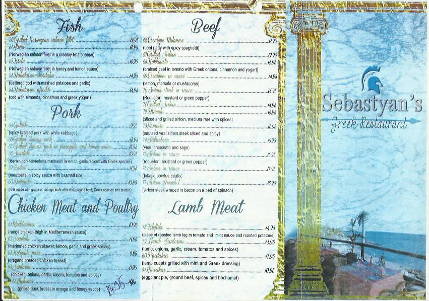 sebastyans menu takeaway lanzarote restaurant The Best Grill Restaurants in Playa Blanca Canarias - The Best Dining Experience in Playa Blanca - Best Places To Eat Playa Blanca