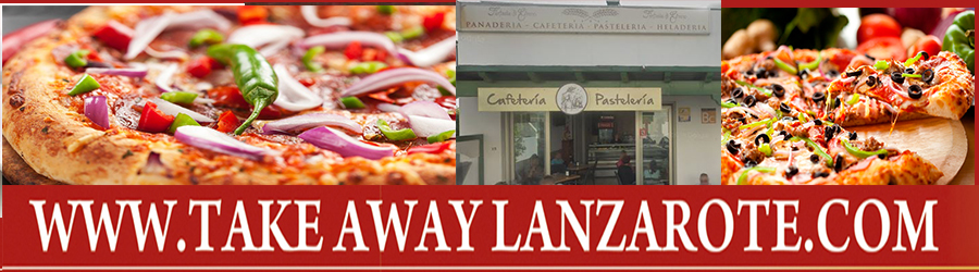 Pizza Takeaway Pizzeria Fantasie di Grano, Takeaway Playa Blanca, Lanzarote, food Delivery Lanzarote, Yaiza