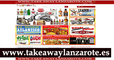 Playa Blanca, Takeaway Lanzarote, Free food Delivery Service