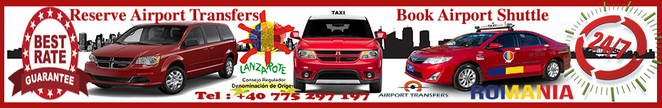 Lanzarote Taxi & Airport Transfers - Low Cost Airport Shuttle Canarias