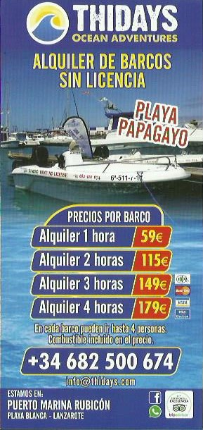 rent boats lanzarote tours sea tours marina rubicon - sea experiences